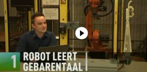 gebarentaal robot